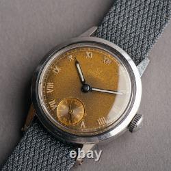 1939 Omega Vintage Rare WW2 Trench watch 30.5mm mens Swiss @WatchAdoption