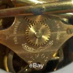 1960s Jaeger LeCoultre Atmos Clock Swiss Serial 147504 Model 526 VTG Rare Mid