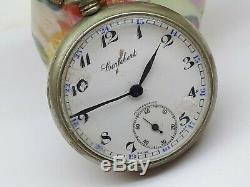 Antique Cortebert Vintage Swiss Rolex Pocket Watch Special Cal. 616 Rare Running