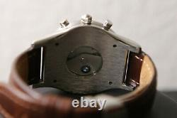 BMW Men's Swiss Made Automatic Chronograph Moonphase Watch Vintage RARE NEW