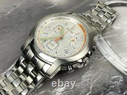BULOVA Chronograph Swiss Made Watch C860452 40mm Marine Star Vintage Rare Racing