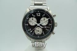 Bell & Ross 120 Vintage Swiss Pilot Chronograph 38mm Limited Rare 100m