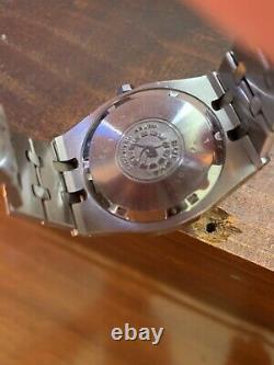 Bulova Royal Oak Automatic Vintage Swiss Men's watch Very Rare Two Tone