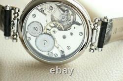 CHRONOMETRE Vintage 1910` NEW CASED rare Luxury classic Swiss Men`s Wristwatch