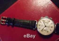 Chronograph Swisse Verbena Landeron Cal. 248 -rare Vintage'50 Fine Lugs -swiss