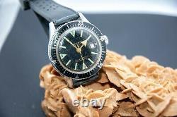 Cimier Sea Timer Rare Vintage Dive Watch Diver Swiss Men 1960