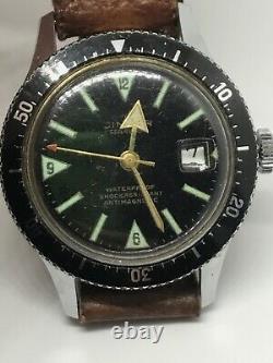 Cimier Sea Timer Rare Vintage Dive Watch Diver Swiss Men 1960 1969