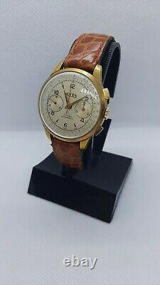 Cronografo Vintage Swiss Made-axes-chronographe-rare-montre-n2