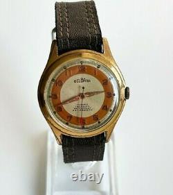 DELBANA 1950's rare vintage Swiss made mechanical watch Cal. AS 1187, 17 jewels