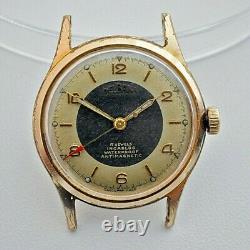 DELBANA Incabloc 1950's rare vintage Swiss made mechanical Men`s watch SERVICED
