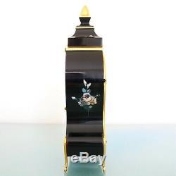 DU CHATEAU Vintage Mantel Clock BABY MINI SWISS! Neuchatel VERY RARE! BELL Chime