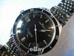 Diver omega 120 submariner rare vintage watch swiss made 37 mm no chronograph