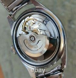 Eterna Matic Kontiki Vintage Swiss Made Mens Rare Watch Goldenseal Works Fine