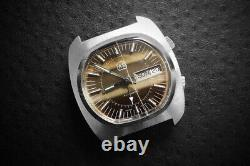 Extremely rare Adolph A. Schild Prototype AS5008 ALARM vintage eterna swiss watch