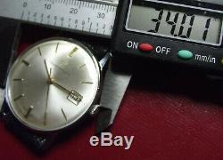 Girard Perregaux Rare Fine Vintage'60 Mechanical Date Swiss Made