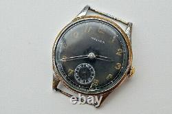 HELIOS RARE Wehrmacht German Army WWII Vintage 1939-1945 Swiss Military Watch
