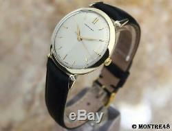 Hamilton Rare Swiss Made Manual Mens 34mm Vintage 1950 Gold Filled Watch J241