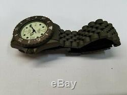 Heuer Green / 6133 W20 / 981.115 / Swiss Vintage Rare Collectible Diver Nos