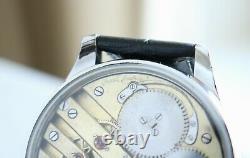 IWC PREMIUM Vintage 1904`s LUXURY New Cased rare Unique Men`s Swiss Wristwatch