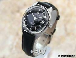 IWC Yacht Club Cal 8541B Rare Mens Auto 37mm Swiss Made 1960 Vintage Watch J84