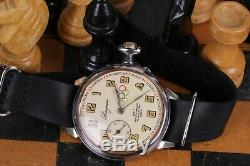 LONGINES Antique Rare Swiss Wrist Watch Vintage For Men watch Olympiade 1936