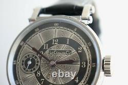 LeCoultre Vintage 1890`s rare ENGRAVED New Cased Men`s LUXURY Swiss Wristwatch