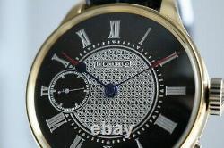 LeCoultre Vintage 1900`s rare GOLD New Cased Men`s UNIQUE Swiss Wristwatch