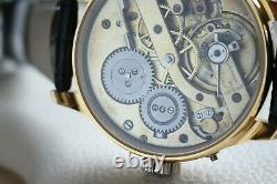 LeCoultre Vintage 1900`s rare New Cased Men`s Marriage UNIQUE Swiss Wristwatch