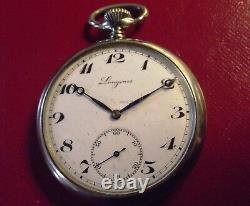 Longines Rare Efco Vintage'30/40 Poket Watch Swiss Made