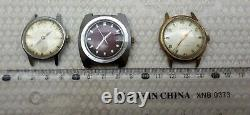 Lot Of 6 Collection Vintage Swiss Japan Men's Rare Wrist Watch Wholesale Working