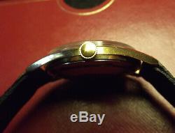 Mathey Tissot Rare Calatrava Vintage'60 Gold Rolled/s. Steel Back Swiss