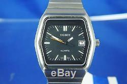 NOS Retro Vintage Electronic Tissot Quartz Watch Circa 1970s Swiss Cal 2031 RARE