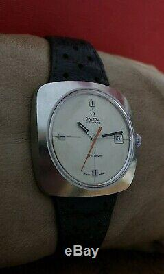 OMEGA GENEVE AUTOMATIC VINTAGE 70's RARE SS SWISS WATCH