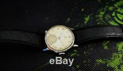 OMEGA WWII 40's MILITARY cal. 30T2 VINTAGE SS RARE 15J SWISS WATCH