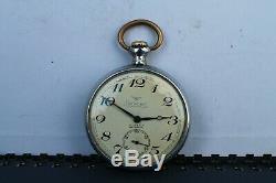 Old Rare Vintage Swiss Made Pocket Watch Cortebert