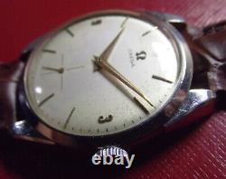 Omega Cal. 30-t2 Ultra Rare Vintage'40 All S. Steel Swiss Made