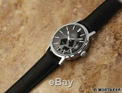 Omega Geneve Cal 1481 Rare 35mm Mens 1970s Swiss Made Auto Vintage Watch O45