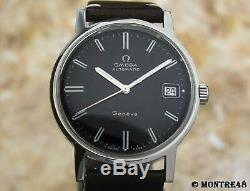 Omega Geneve Cal 565 Rare 35mm Mens 1960s Swiss Made Auto Vintage Watch JL77