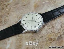 Omega Seamaster 600 Cal 611 Rare Men's 34mm Swiss Made Manual Vintage Watch N121