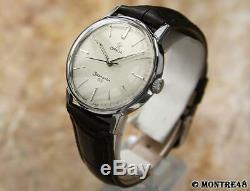 Omega Seamaster 600 Rare Men Swiss Made 1960 Manual 34mm Vintage Watch S130