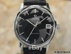 Omega Seamaster Cal 565 Rare 35mm Mens 1960s Swiss Made Auto Vintage Watch N200