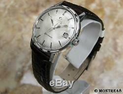 Omega Seamaster Cal 565 Rare 35mm Mens 1960s Swiss Made Auto Vintage Watch S58