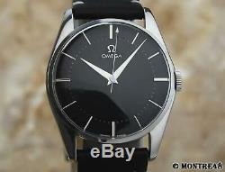 Omega Vintage 1960s Cal 420 Rare Mens 34mm Swiss Made Manual Watch AS25
