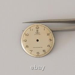 Original Tudor Oyster Rose Logo Vintage Dial Rare Swiss cal. 59SC / 2411 Superb