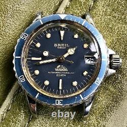 Orologio Watch Breil Okay Manta Sub Diver Anni 60 Vintage Rare Automatico Swiss