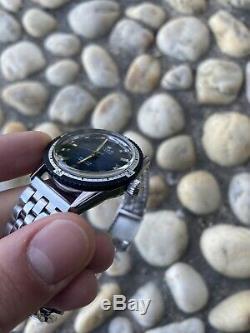Orologio Watch Elcar Automatic Swiss Made Diver Sub Vintage Anni 70 Rare Nos