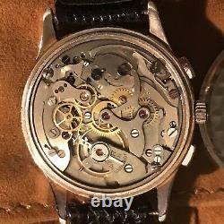 Orologio Watch Landeron 48 Chrono Rare Vintage Swiss Made 36mm