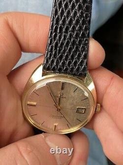 Orologio Watch Omega Seamaster Cosmic Vintage Swiss Made Rare Date