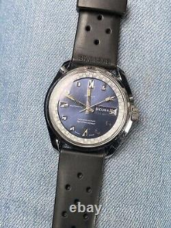 Orologio Watch Sicura Breatling Automatic Swiss Made Date Vintage Rare