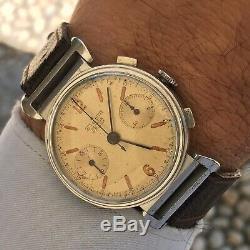 Orologio Watch Sigdin Geneve Swiss Made Anni 40 Valjoux22 Rare Vintage